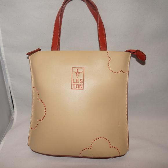 dfaa557eb80 Tes Ton Leather satchel tan. M 5af6125c3b160808dcfaf4ff
